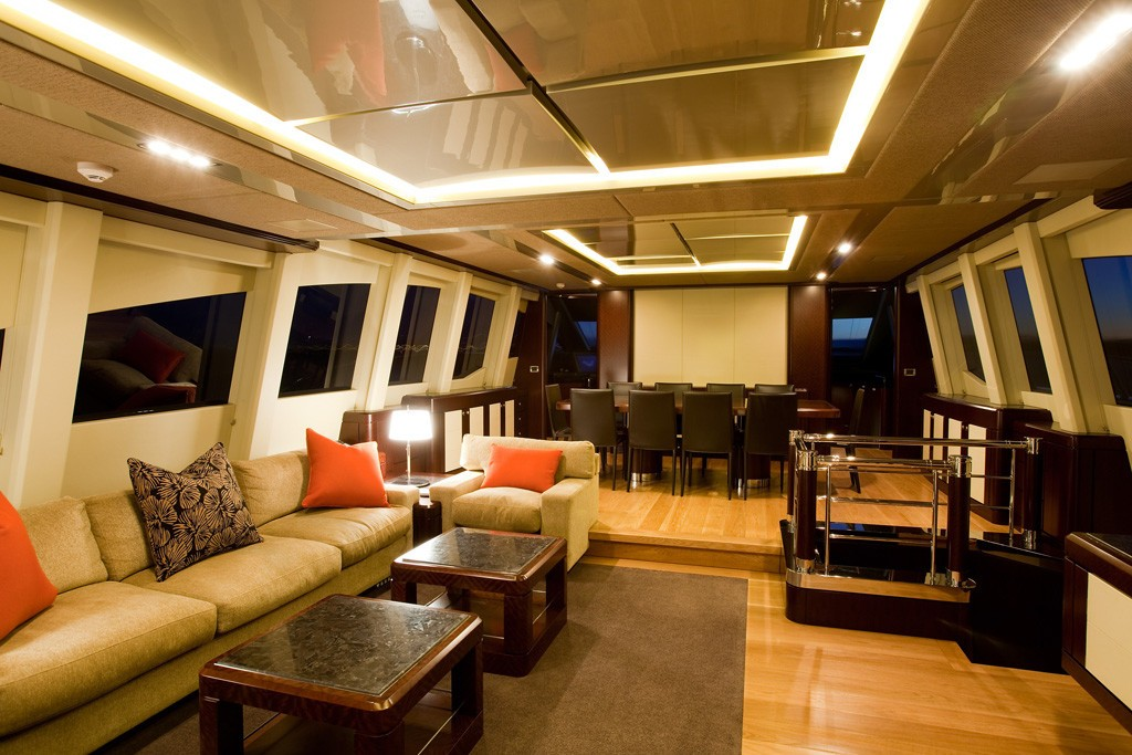 Saloon With Eating/dining On Yacht QUANTUM