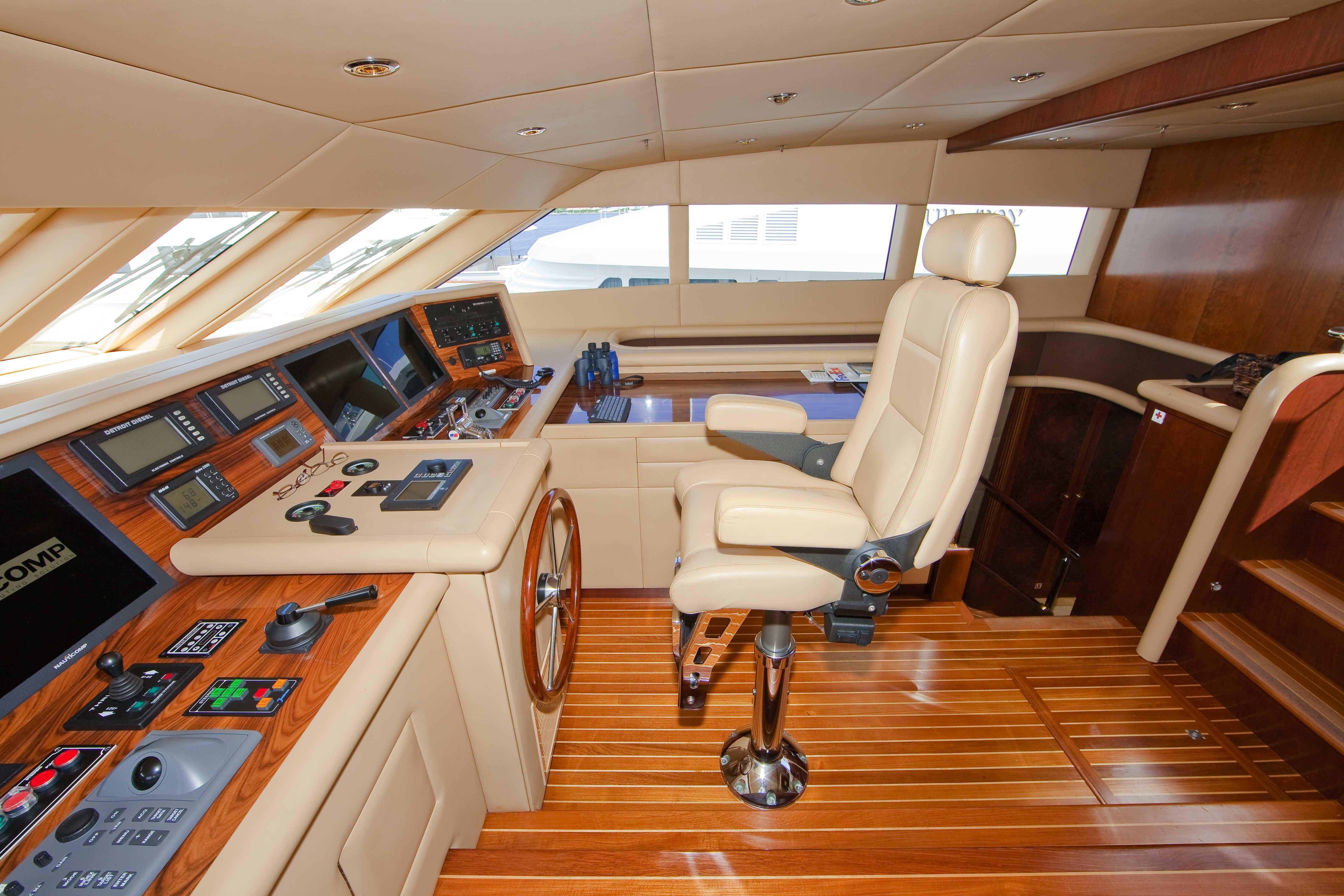 Yacht HERITAGE III Bridge