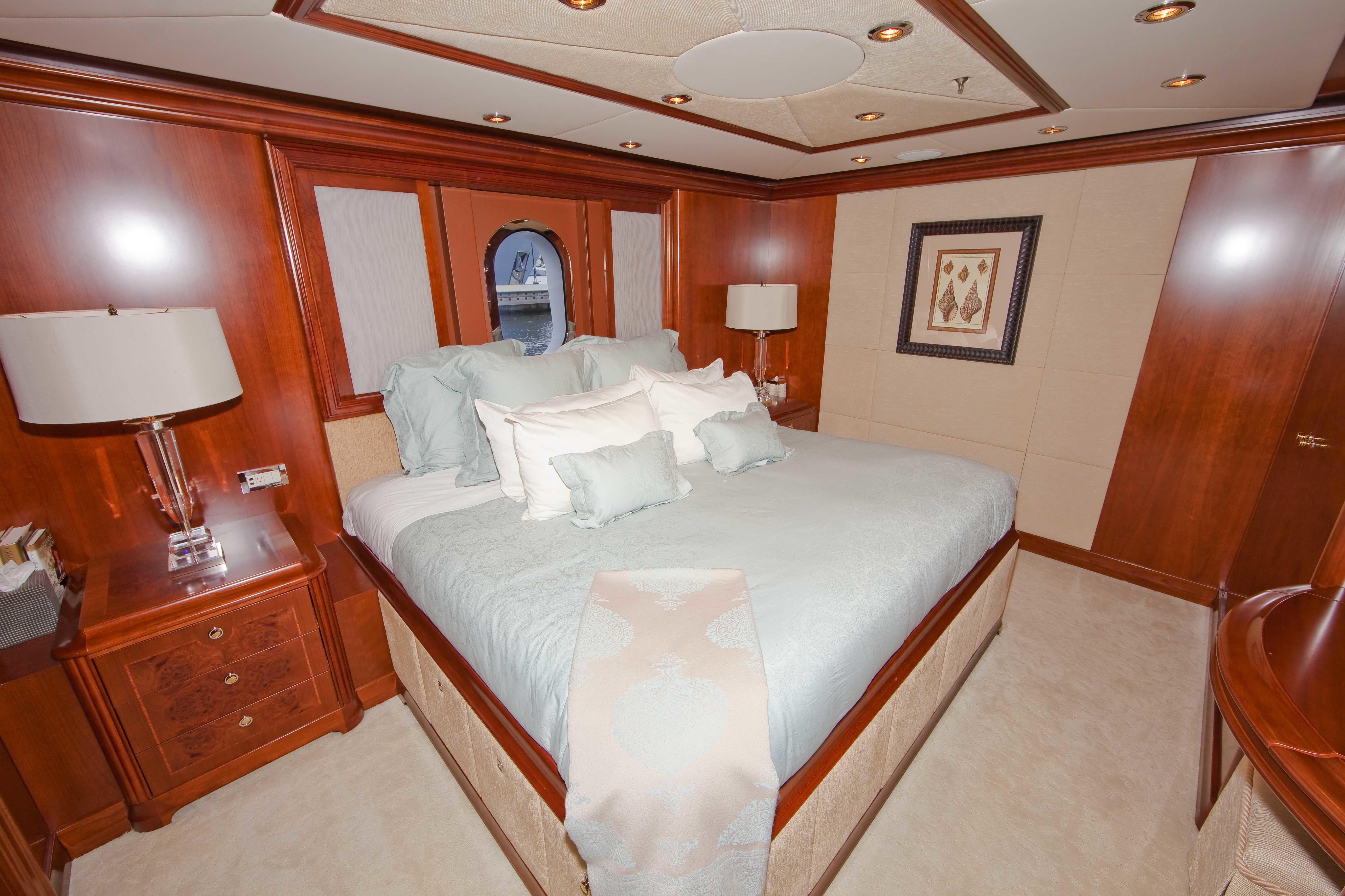 The 37m Yacht HERITAGE III Cabin