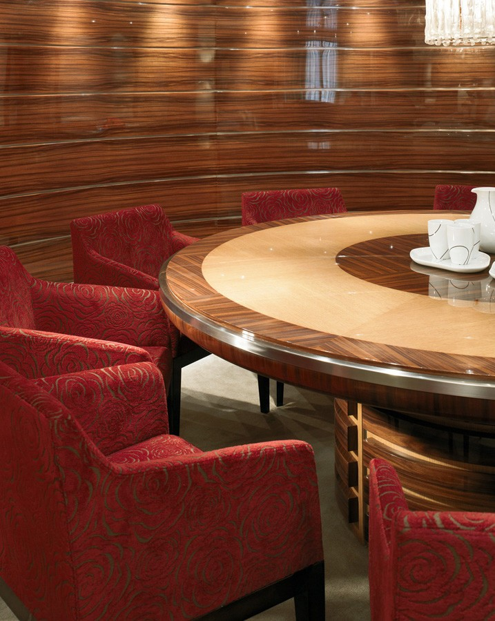 Furniture Close Up Aboard Yacht DREAM ON