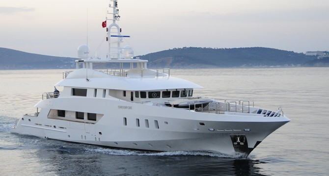 Overview Aboard Yacht DREAM ON