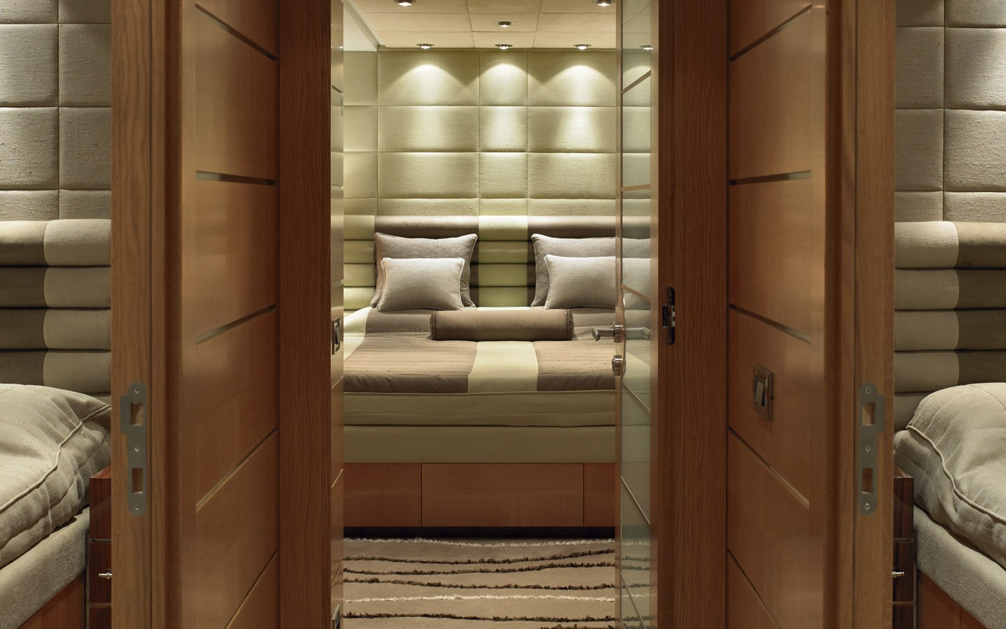 Aspect Into Cabin On Yacht DREAM ON