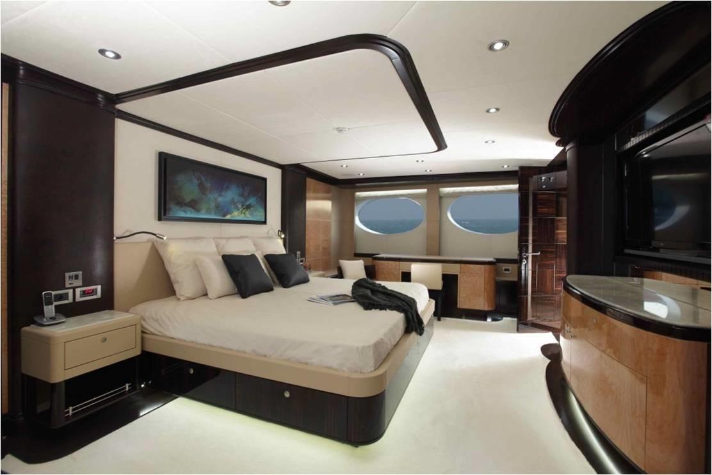 Main Master Cabin On Yacht GRENADINES III