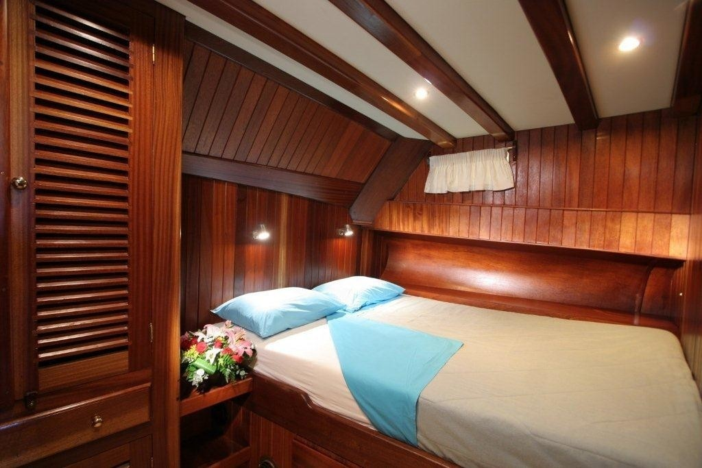 Double Sized Stateroom On Yacht MATINA