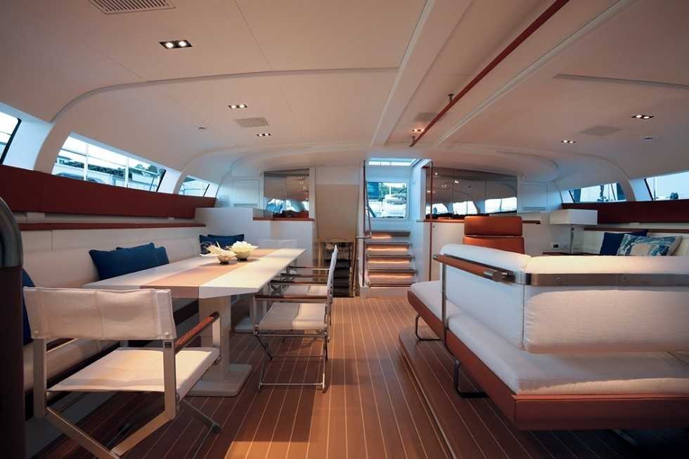 Pilot House Saloon On Yacht P2