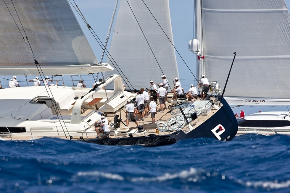 Aft: Yacht P2's Cruising Pictured