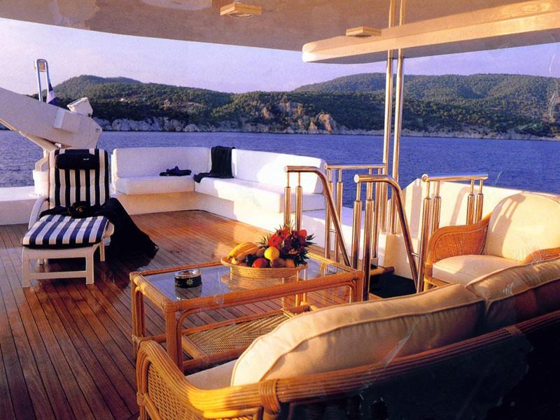 Upon Deck On Board Yacht CARMEN SERENA