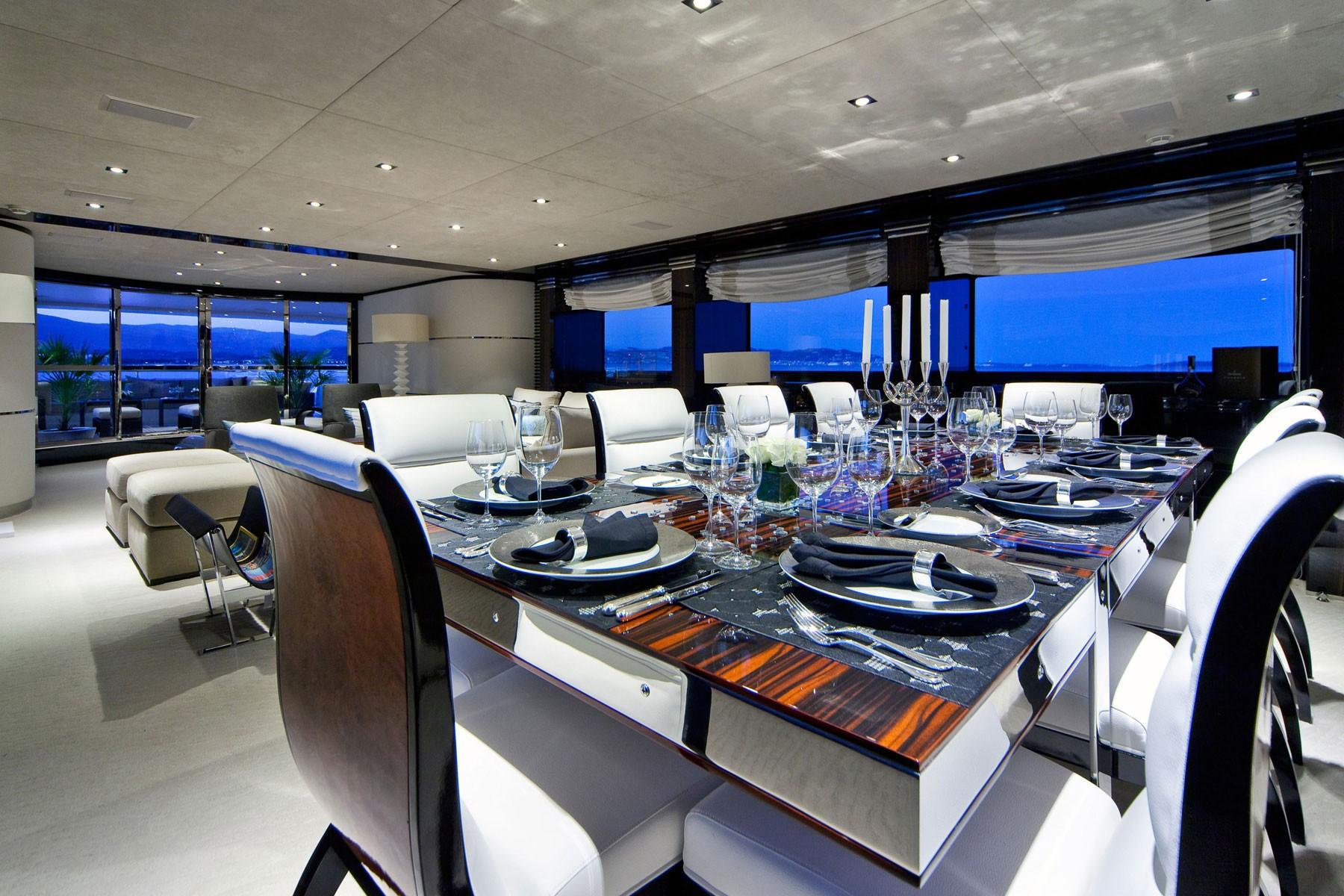 Eating/dining Saloon On Yacht MANIFIQ
