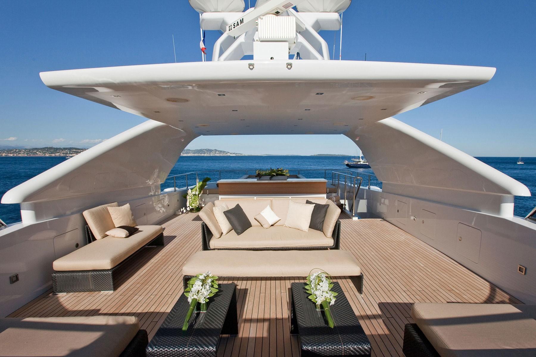 Sun Deck On Board Yacht MANIFIQ