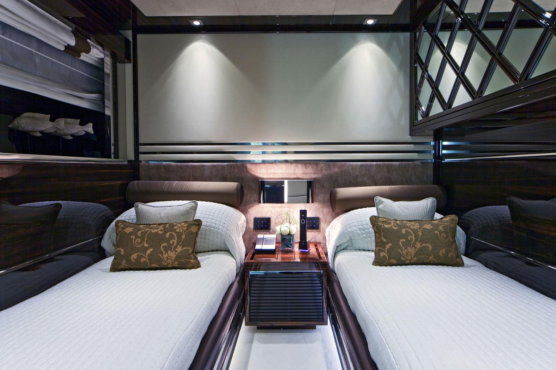 Twin Bed Cabin On Board Yacht MANIFIQ
