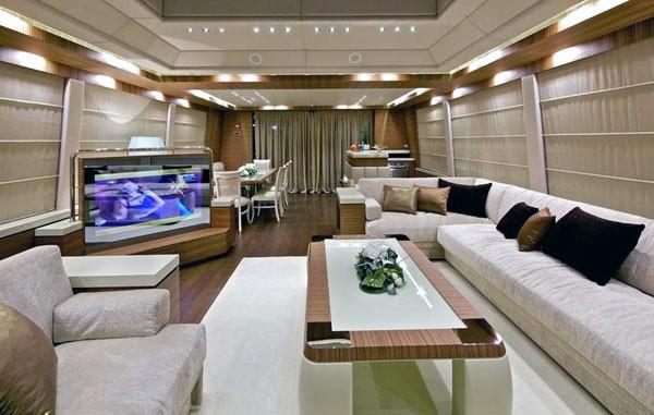 Saloon Profile On Board Yacht O'PATI