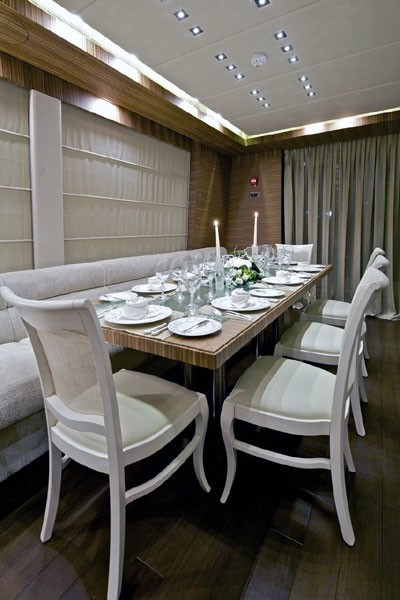 Eating/dining Saloon On Board Yacht O'PATI