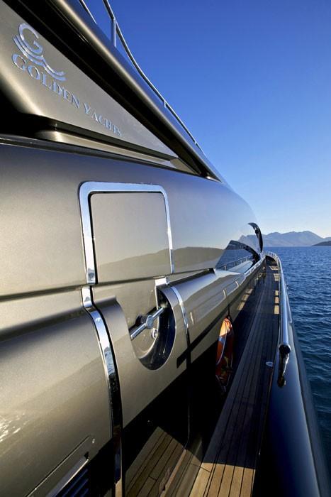 Exterior Profile On Yacht O'PATI