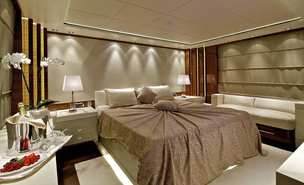 Main Master Cabin Aboard Yacht O'PATI
