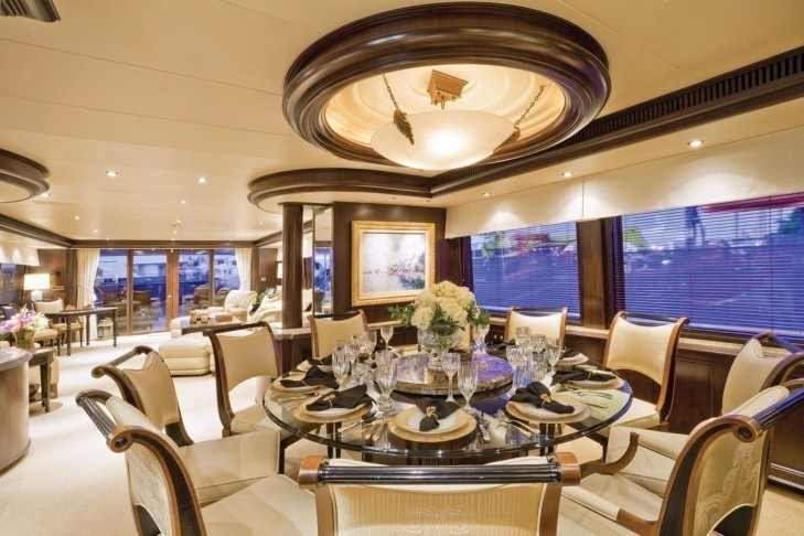 Eating/dining Furniture On Yacht SEA DREAMS