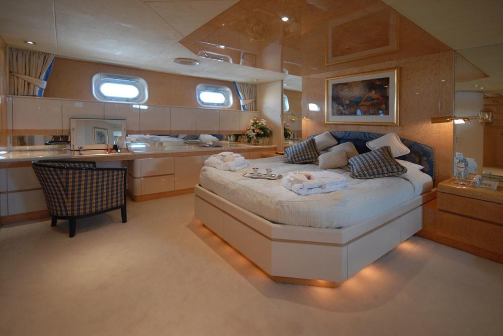 Cabin Aboard Yacht LADYSHIP