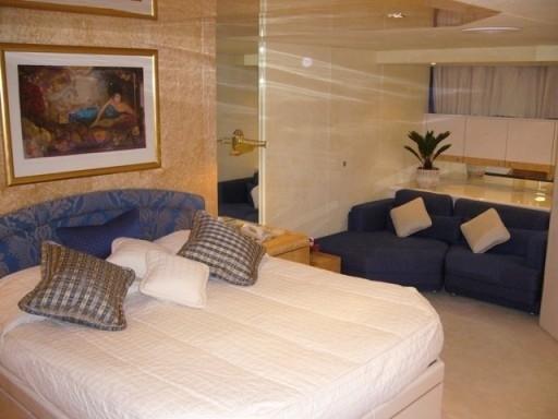 VIP Stateroom On Yacht LADYSHIP