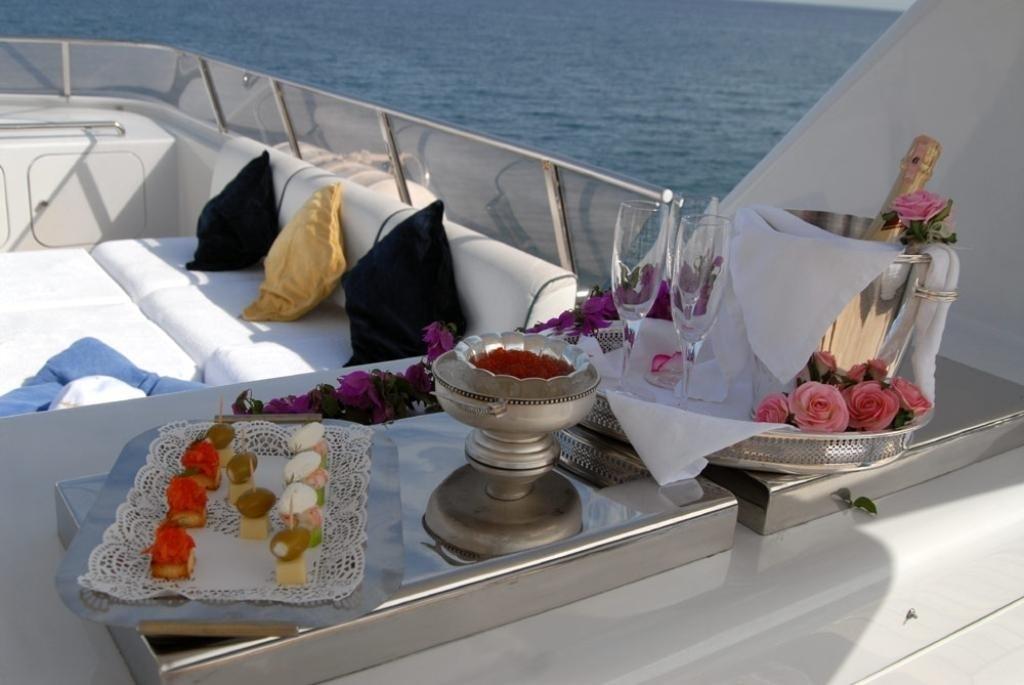 Upon Deck On Yacht LADYSHIP