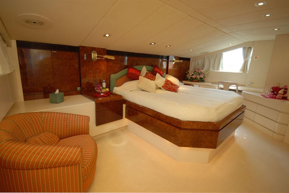 Main Master Cabin On Yacht LADYSHIP