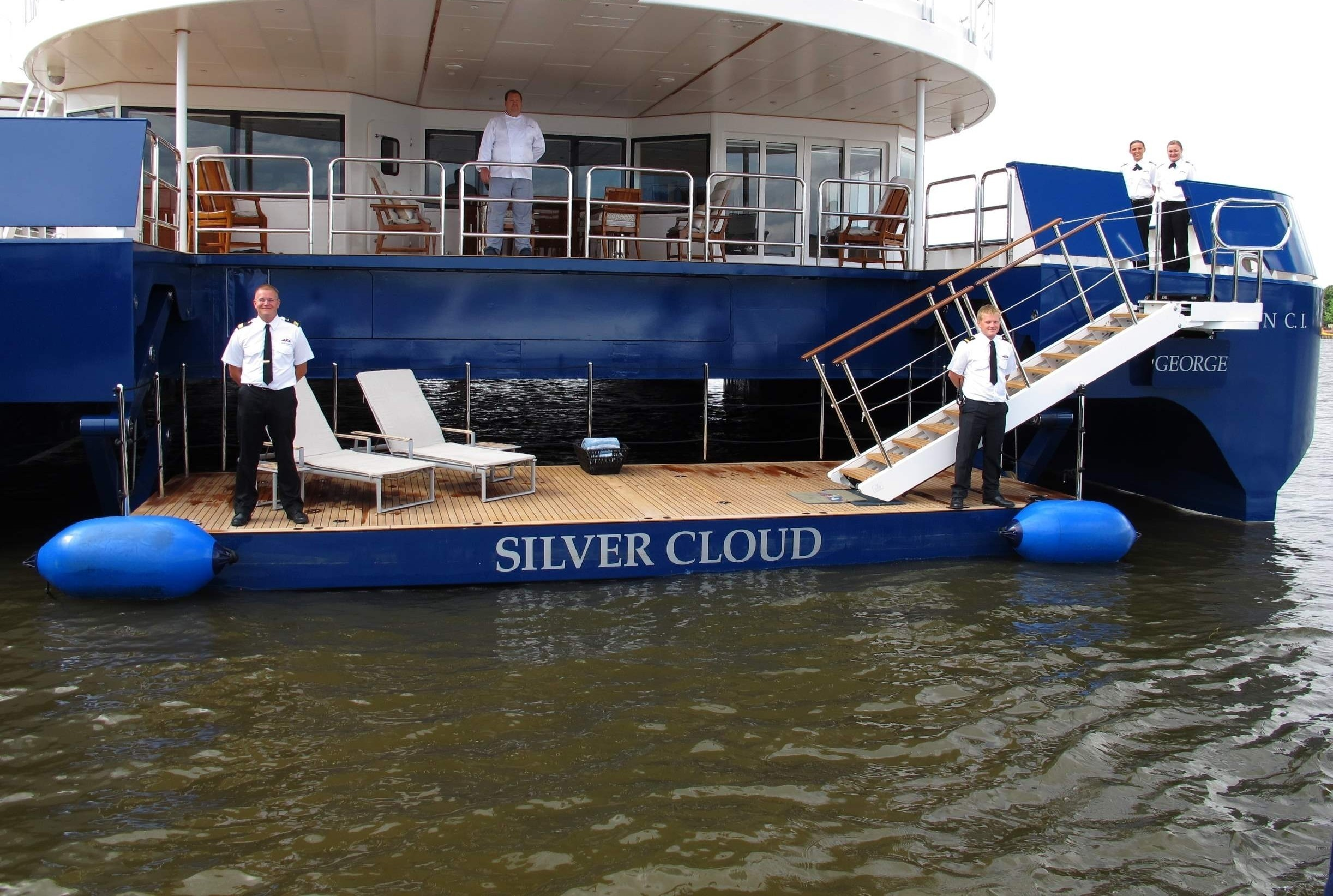 Crewmember's On Yacht SILVER CLOUD