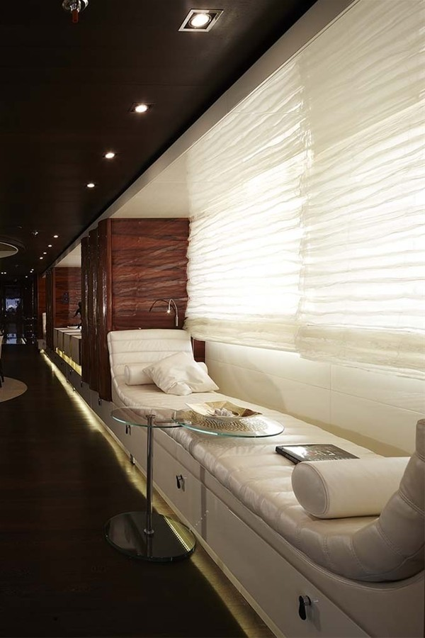 Saloon Sitting On Yacht E & E
