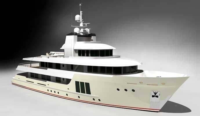 The 42m Yacht E & E