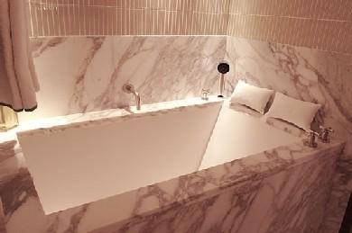 Main Master Bathroom On Yacht IL CIGNO