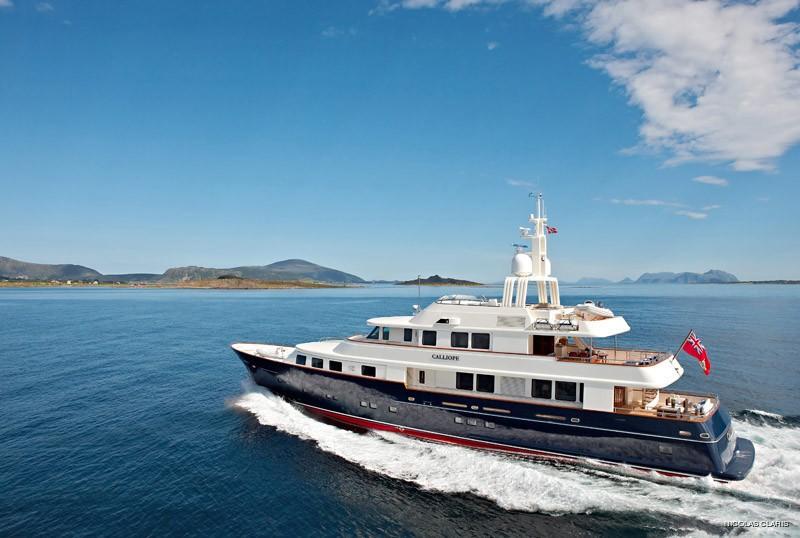 Overview: Yacht NINKASI's Cruising Captured