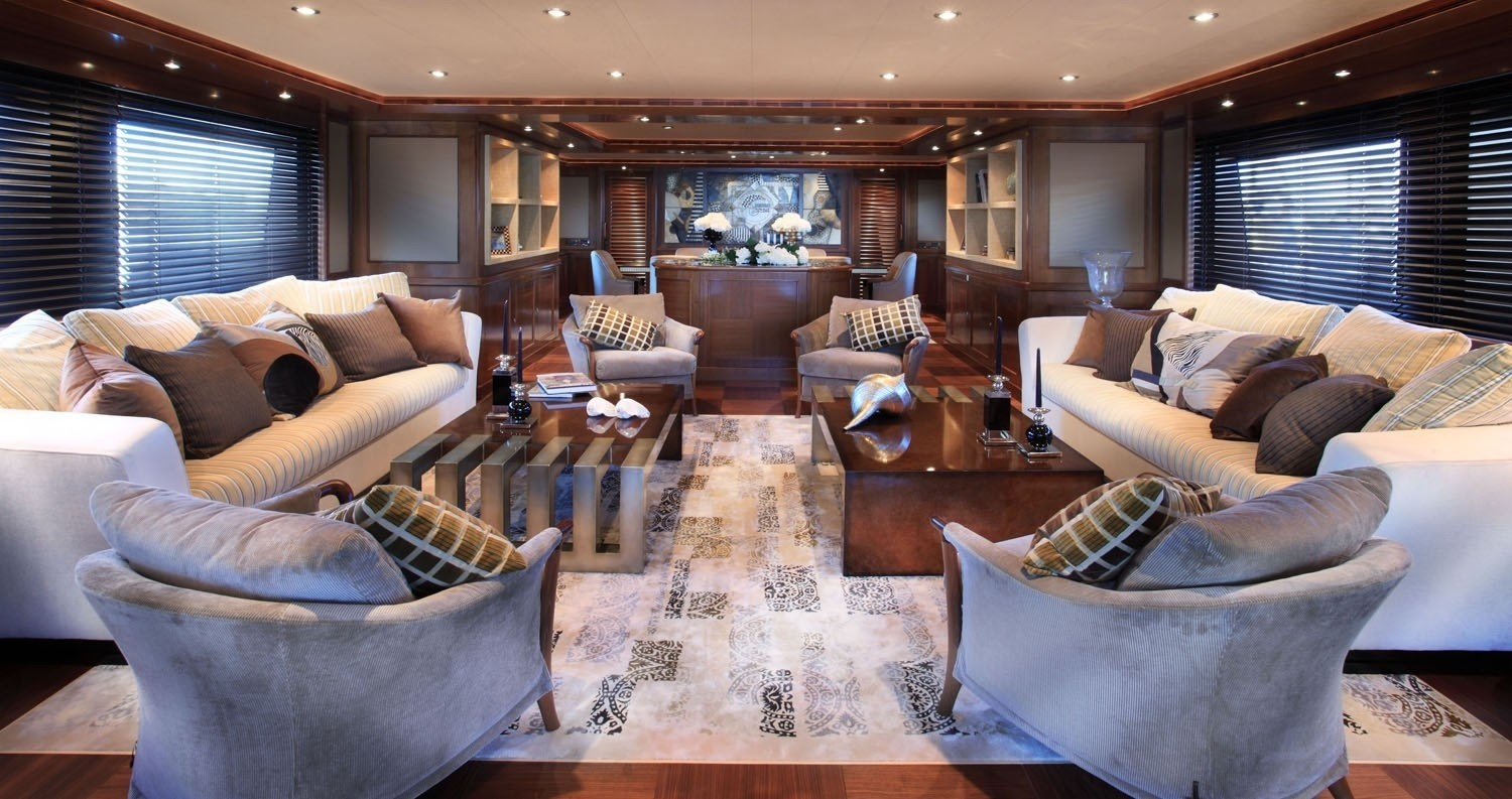 Profile: Yacht SOFICO's Premier Saloon Pictured