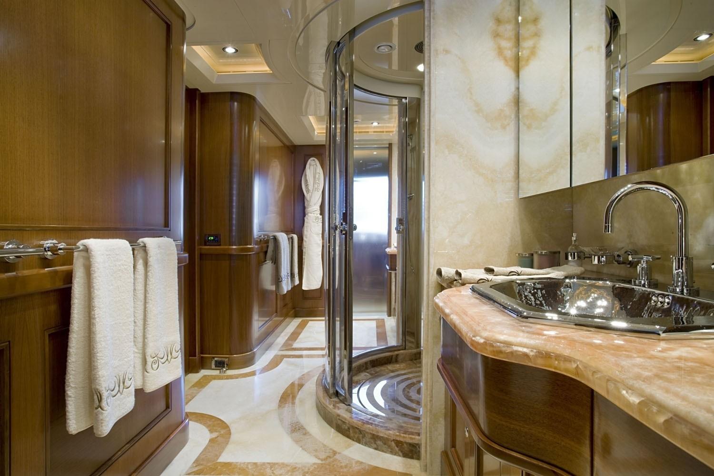Main Master Bath On Yacht SOFICO