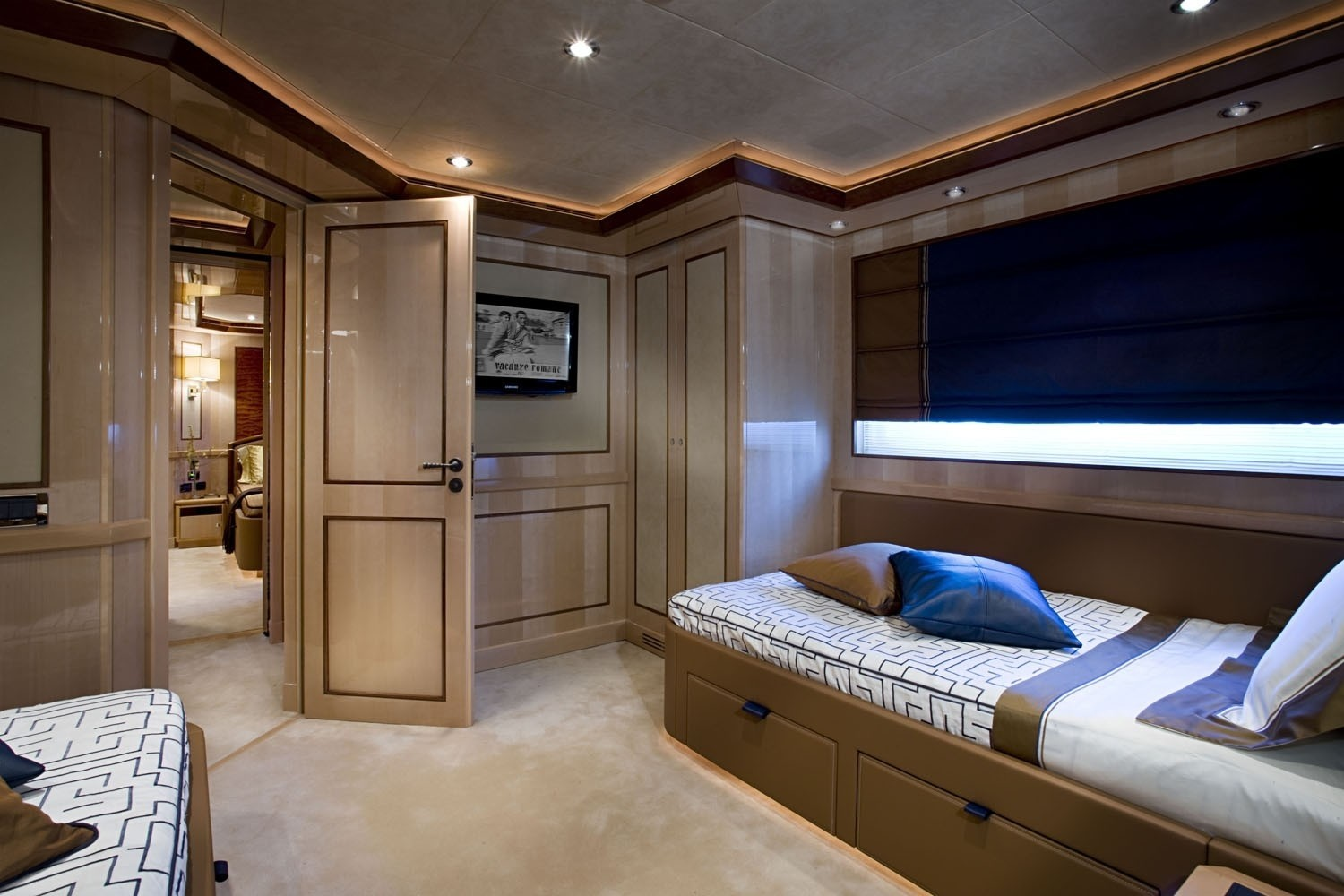 Twin Bed Cabin On Yacht SOFICO