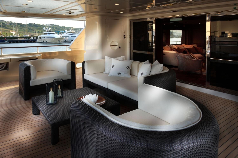 Premier Deck Aboard Yacht SOFICO