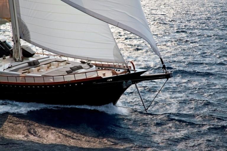 Forward: Yacht INFINITY's Cruising Image