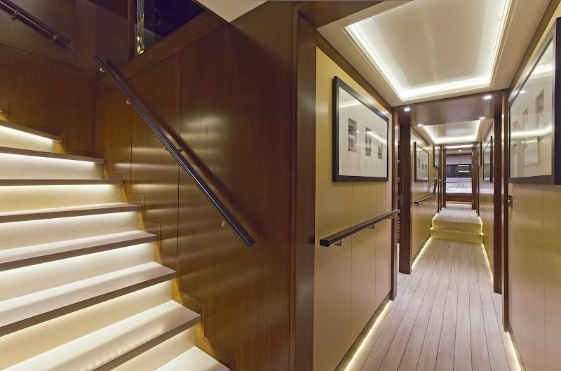 Hall On Yacht INFINITY