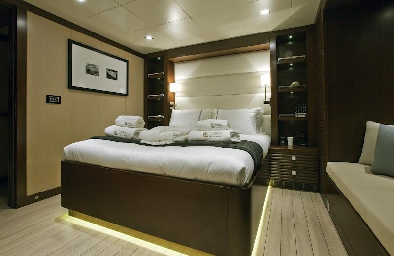 Cabin On Board Yacht INFINITY