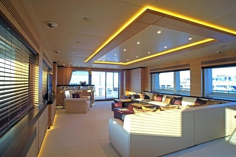 Premier Saloon On Board Yacht TATIANA