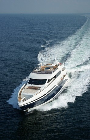 Forward Aspect: Yacht TATIANA's Cruising Pictured