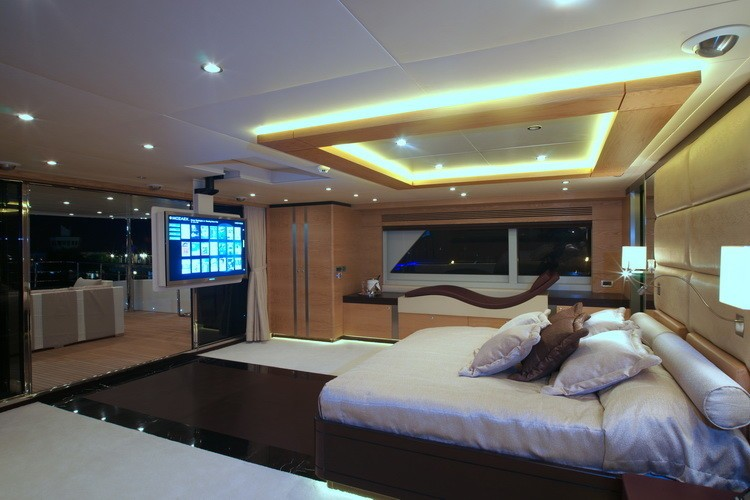 Main Master Cabin On Yacht TATIANA