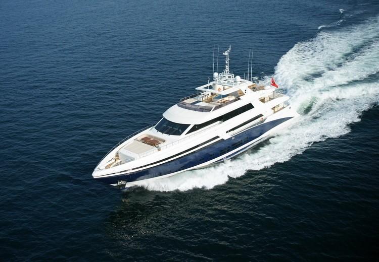 Forward Aspect On Yacht TATIANA