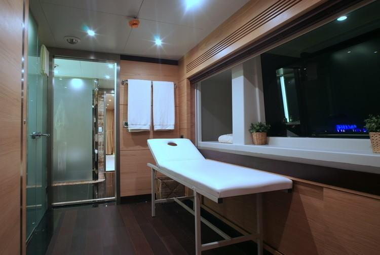 Treatment Room Aboard Yacht TATIANA