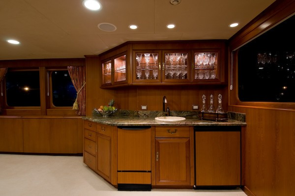 Premier Saloon Drinks Bar Aboard Yacht SEA FALCON II