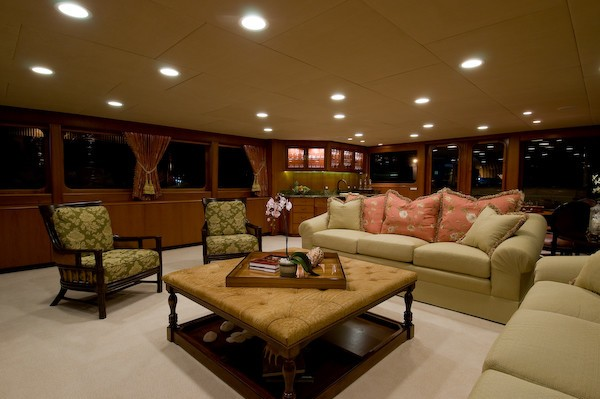 Premier Saloon On Yacht SEA FALCON II