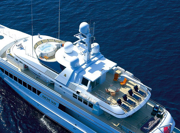 The 48m Yacht CAROLINA