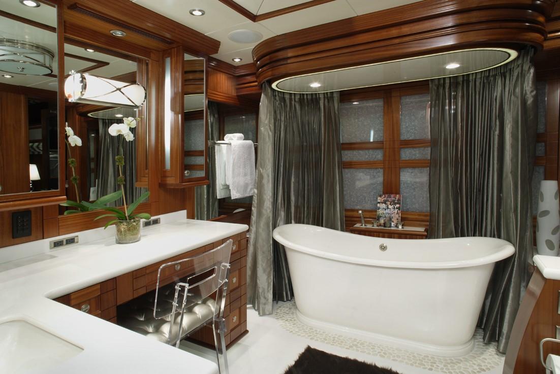 Main Master Bathroom On Yacht ROCKSTAR