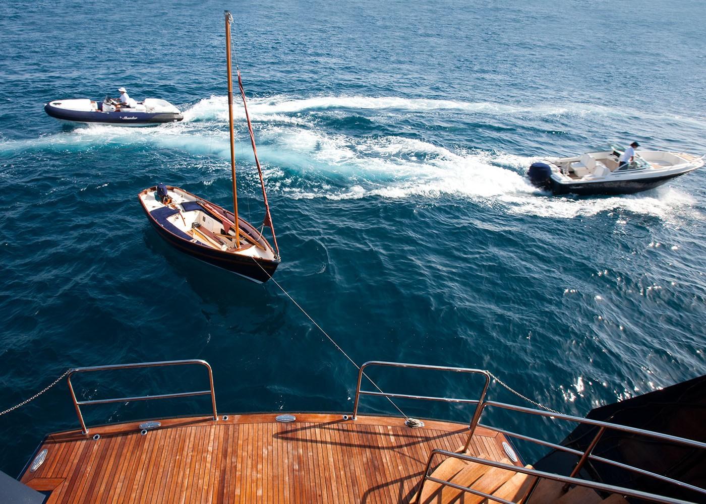 The 49m Yacht THE MERCY BOYS