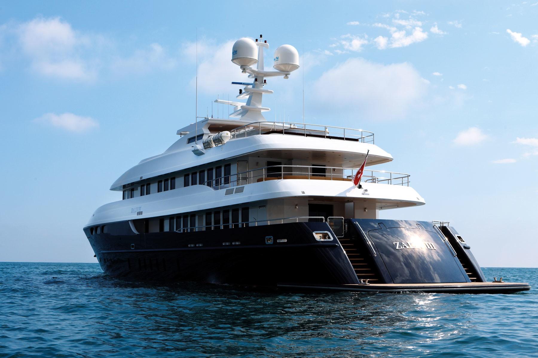 Aft Aspect On Yacht ZALIV III