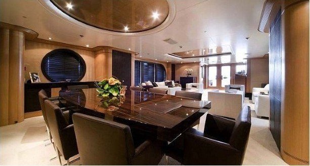 Eating/dining Saloon On Yacht MALIBU