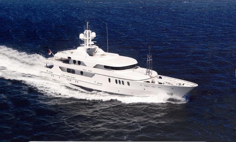Under Way Aboard Yacht MALIBU