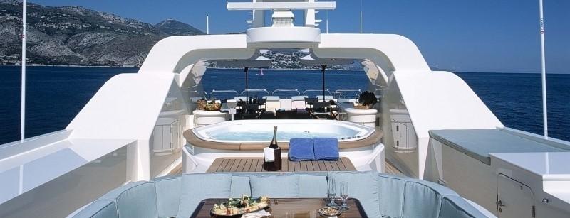 Hard Upper Aboard Yacht MALIBU