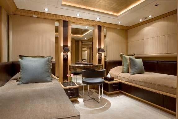 Twin Bed Cabin On Board Yacht MALIBU